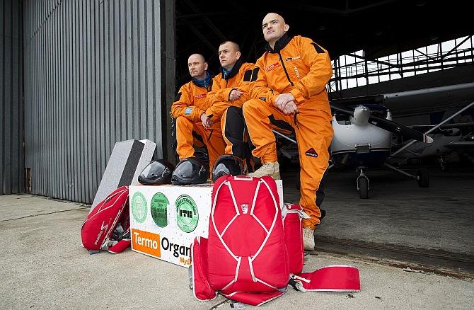 Uczestnicy misji polska stratosfera